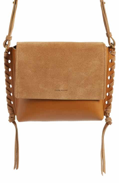 79aca7b735 Isabel Marant Asli Leather Shoulder Bag