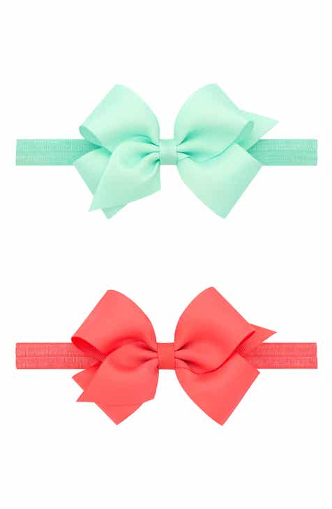 PLH Bows 2-Pack Grosgrain Bow Headbands (Baby)