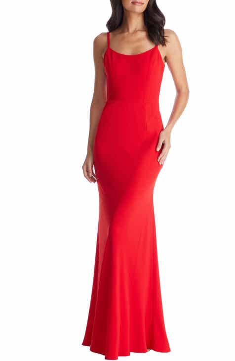 Dress the Population Jodi Crepe Evening Dress 3f0651a84