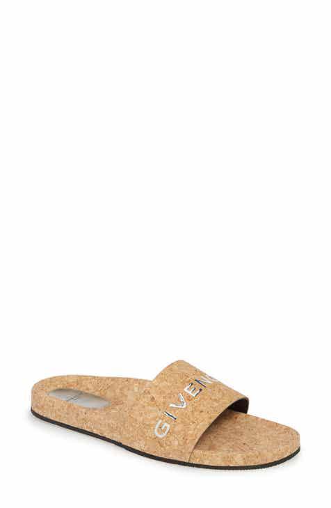 032df6a71a2 Givenchy Logo Slide Sandal (Women)