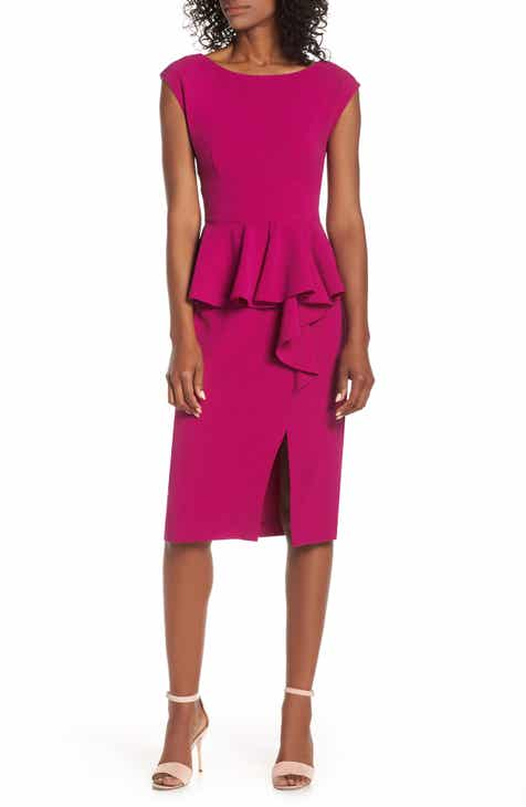 Michael Stars Ruched Midi Dress (Regular & Petite) by MICHAEL STARS