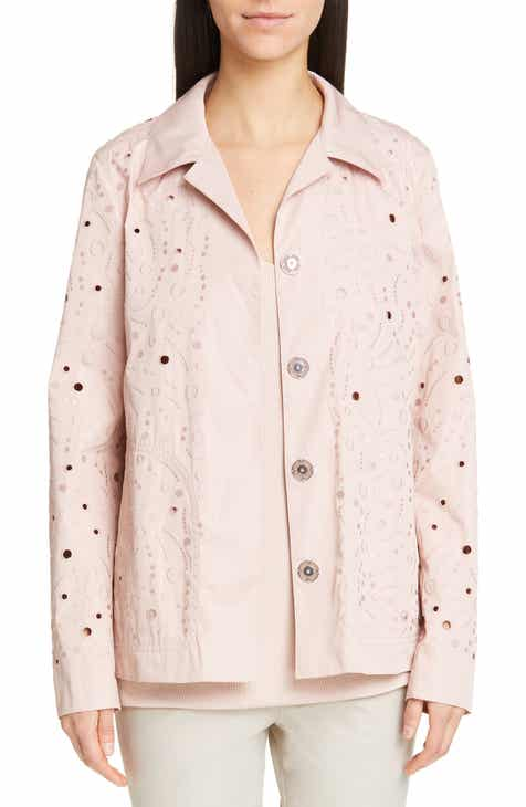Lafayette 148 New York Jaren Embroidered Jacket by LAFAYETTE 148