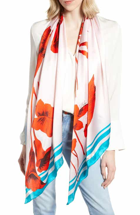 8b785c3ef Ted Baker London Fantasia Floral Silk Scarf