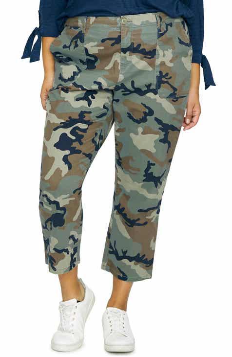 39b687c6ee2 Sanctuary Peace Crop Chino Pants (Plus Size)