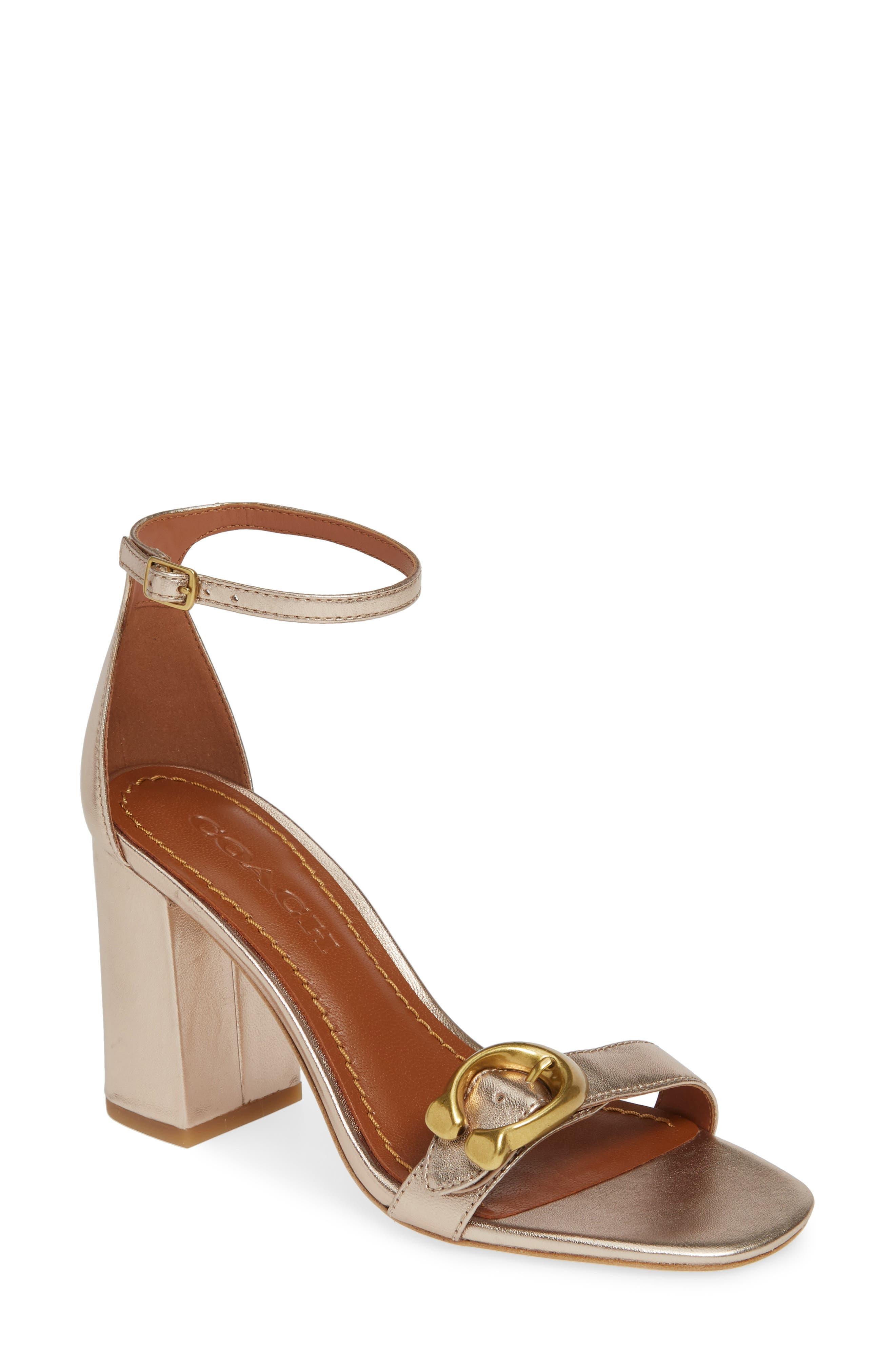 b296ca2365c COACH Block-Heel Sandals for Women