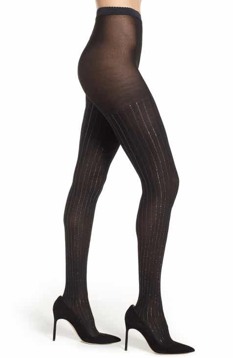 Wolford Sparkle Stripe Tights by WOLFORD