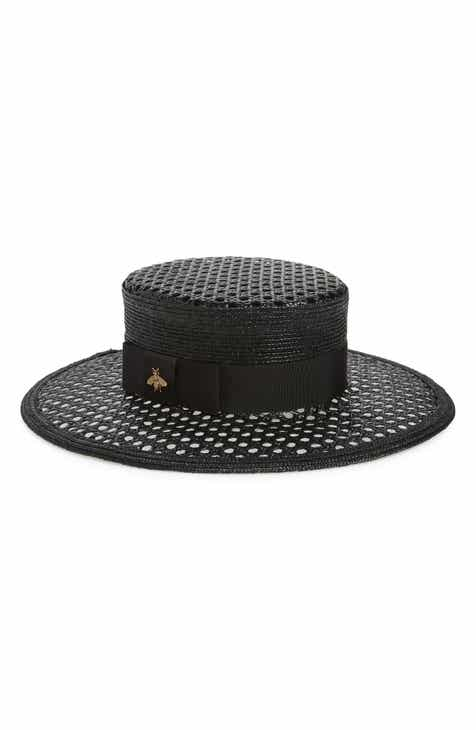 e806e56e720 Gucci Vienna Alba Open Woven Straw Hat