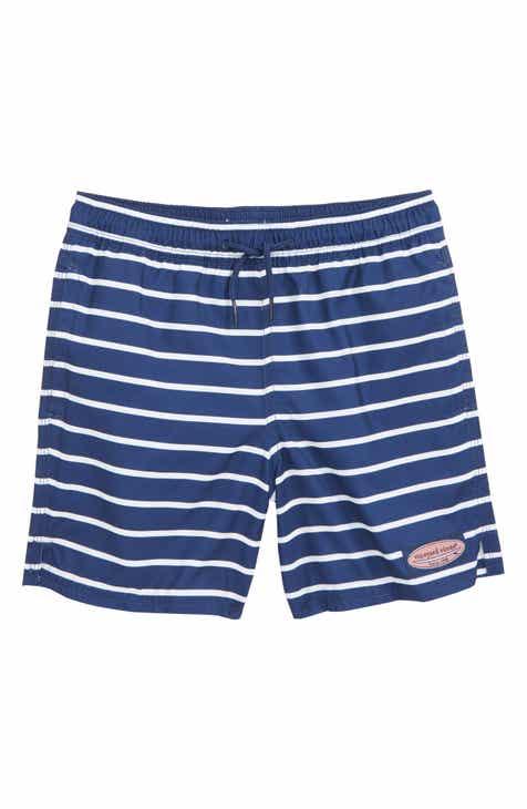dabf9510ac Vineyard Vines Break Stripe Chappy Swim Trunks (Toddler Boys   Little Boys)