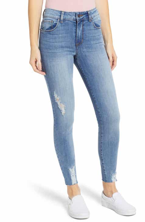 BP. Distressed High Waist Skinny Jeans By BP by BP Fresh