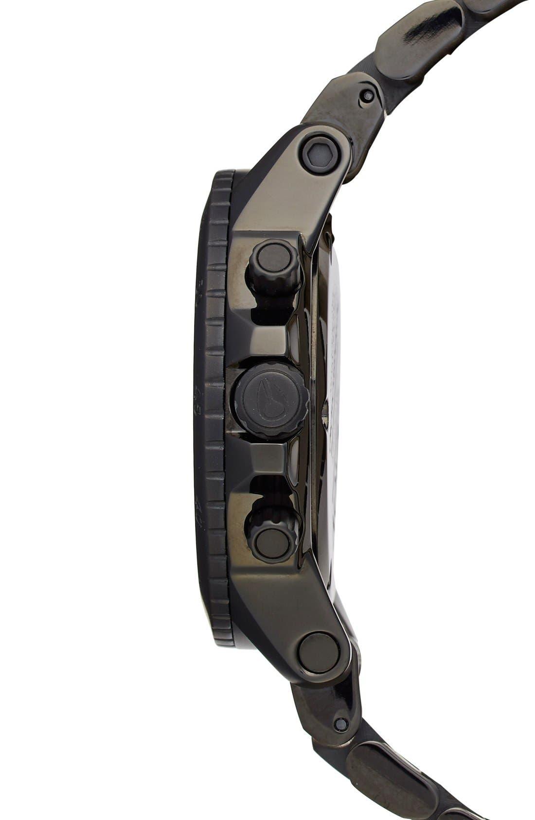 Alternate Image 3  - Nixon 'Ranger' Chronograph Bracelet Watch, 44mm