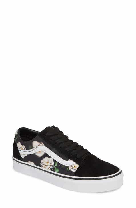 be7edfa48f2 Vans UA Old Skool Lux Floral Sneaker (Women)