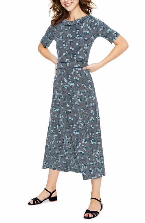 d750265f039 Boden Ava Jersey Midi Dress (Regular   Petite)