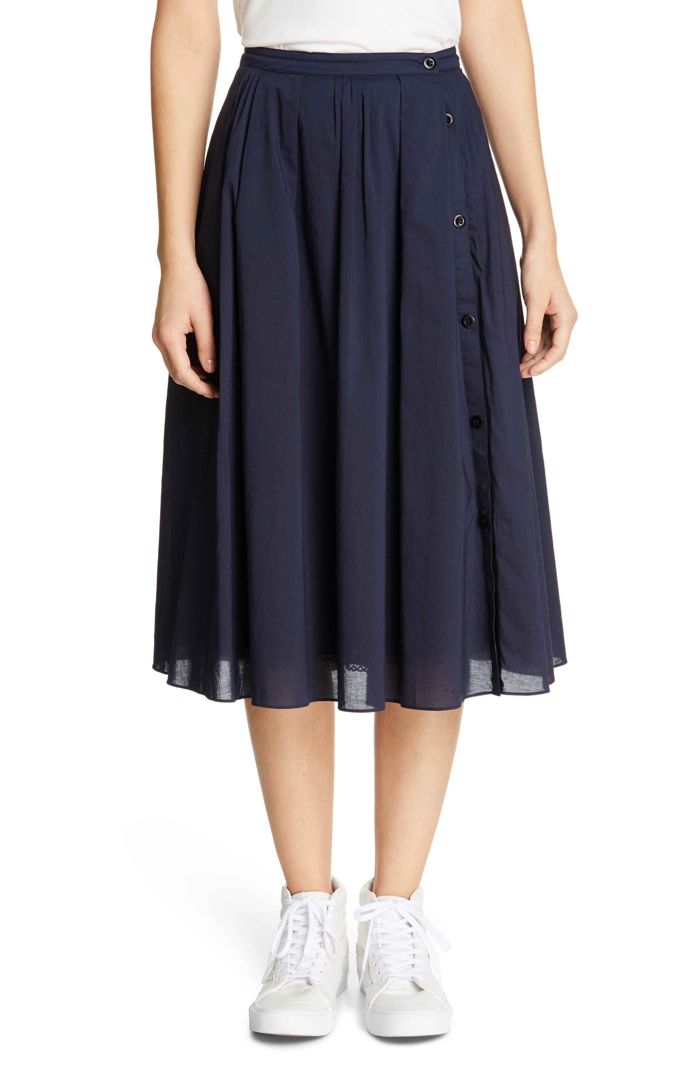 Clothing, Shoes & Accessories The Cheapest Price Boden Looks Great Colour Chloe Cotton A Line Skirt Size 10 Reg