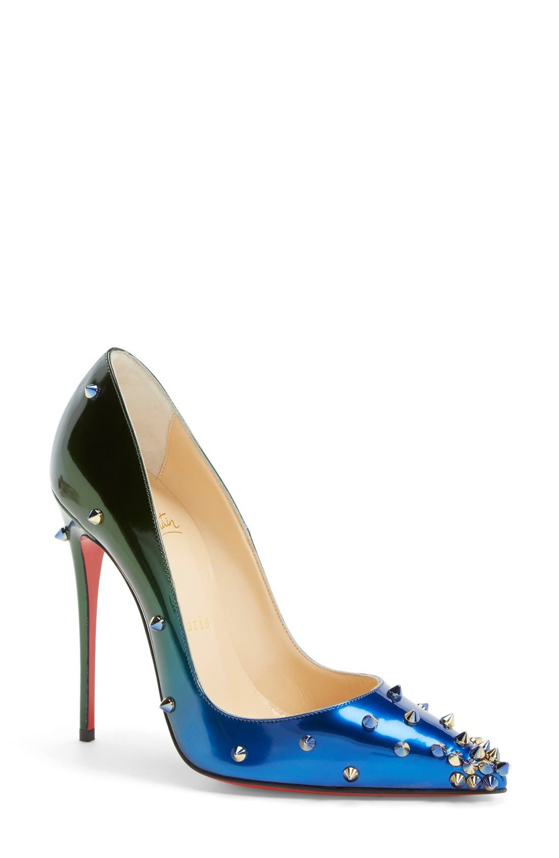 Alternate Image 1 Selected - Christian Louboutin 'Degraspike' Pointy Toe Pump