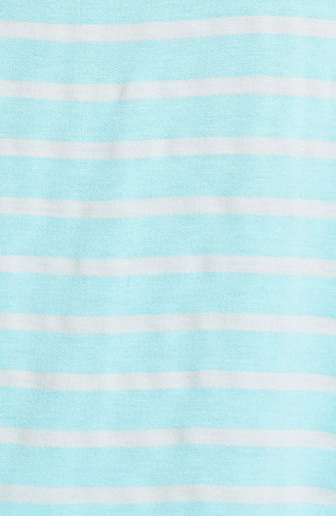 Alternate Image 3  - Caslon® Stripe Side Zip Top (Regular & Petite)