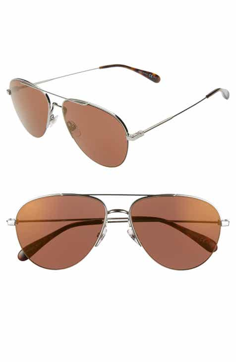 0ef92260c41 Givenchy 61mm Aviator Sunglasses