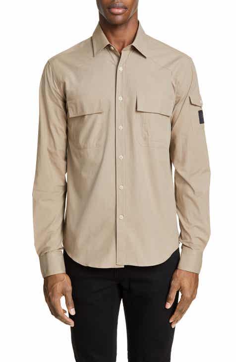 8b19e0fc35 Belstaff Micro Ripstop Sport Shirt