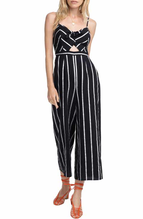 Stone Row Future Me Stripe Jumpsuit by STONE ROW
