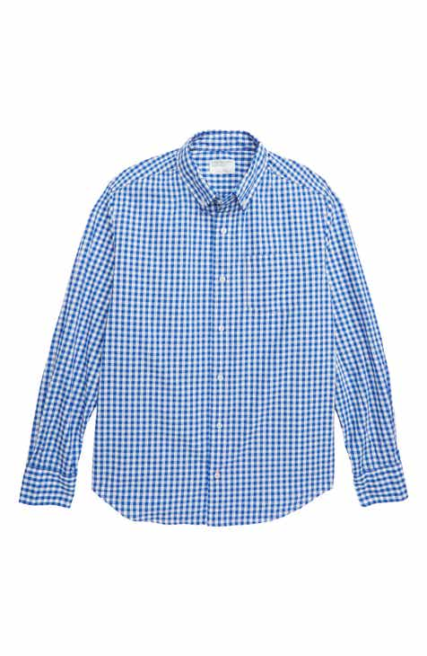 crewcuts by J.Crew Secret Wash Gingham Shirt (Toddler Boys
