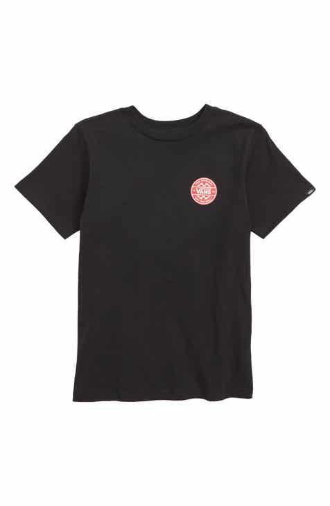 8fc5483976 Vans Off the Wall Checker Logo T-Shirt (Toddler Boys   Little Boys)