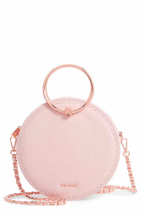 3810eb3cdb7f20 Ted Baker London Maddie Circle Leather Crossbody Bag