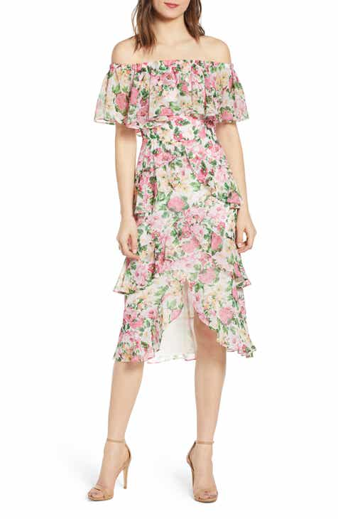 Gibson x The Motherchic Al Fresco Strappy Button Up Midi Sundress (Regular & Petite) by GIBSON