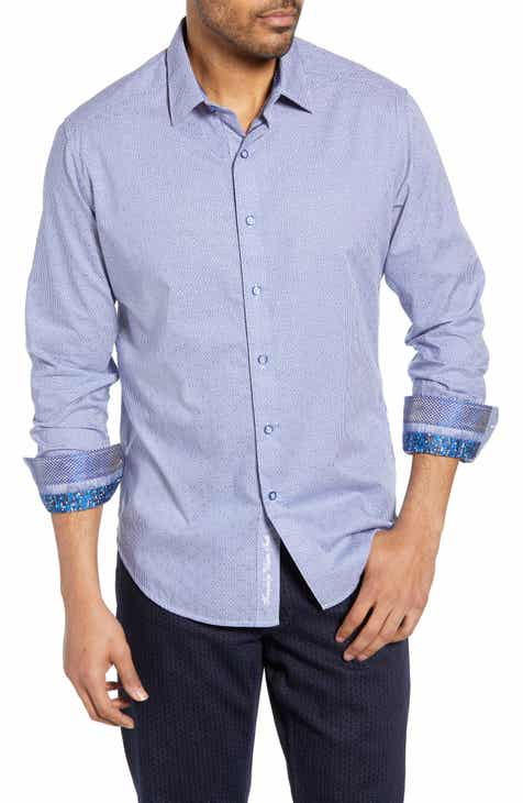 35e57fb8 Robert Graham Perran Classic Fit Cotton Sport Shirt