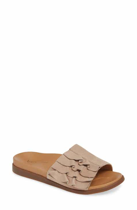 fb2a2f24e5a3 Vionic Roni Ruffled Slide Sandal (Women)
