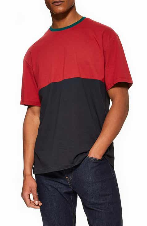 121e02fadd44 Topman Colorblock T-Shirt