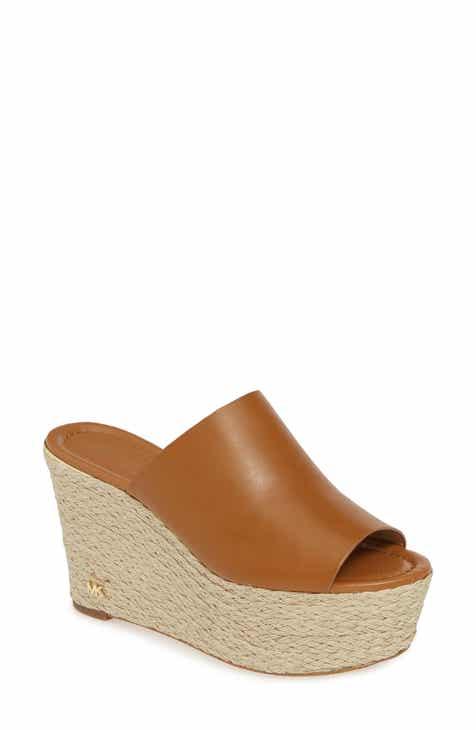8171922a7475 MICHAEL Michael Kors Cunningham Espadrille Wedge Slide Sandal (Women)