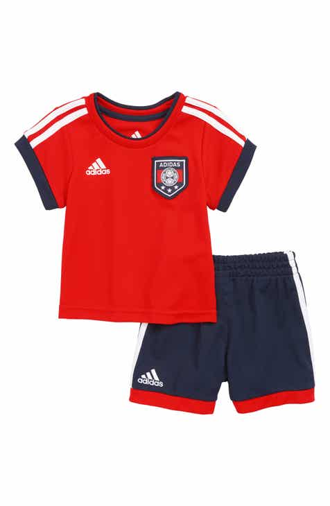 low priced 216c2 5557a adidas Soccer Jersey   Shorts Set (Baby)