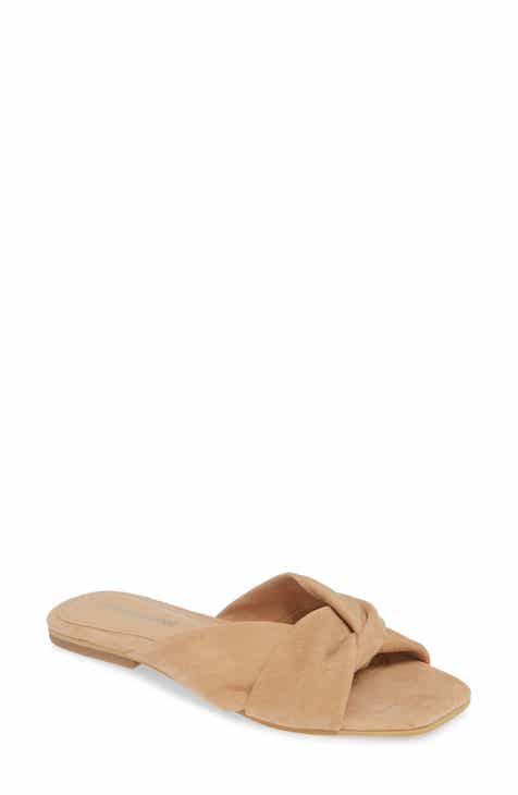 0649087b2a5 Jeffrey Campbell Lynx Slide Sandal (Women).  64.95. Product Image. BLACK  SUEDE