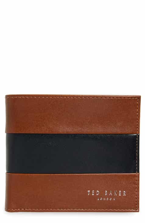 c99e8efec88e Ted Baker London Contrast Leather Bifold Wallet