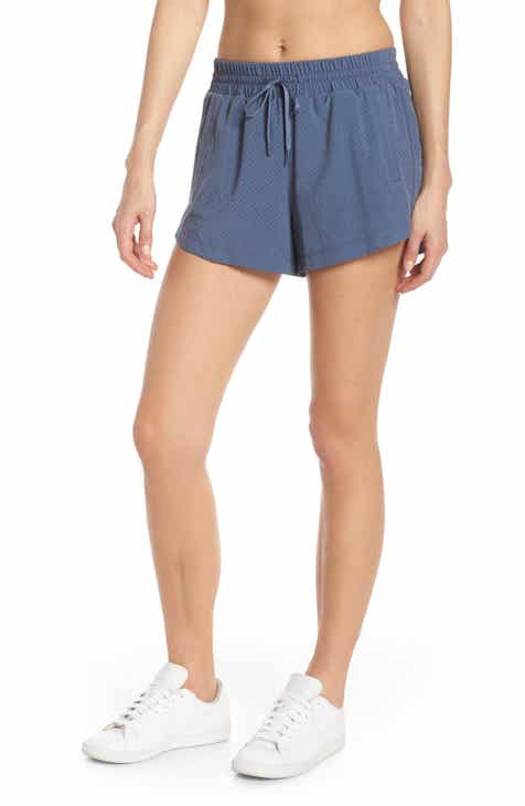 Zella High Waist Mesh Court Shorts By ZELLA by ZELLA Modern