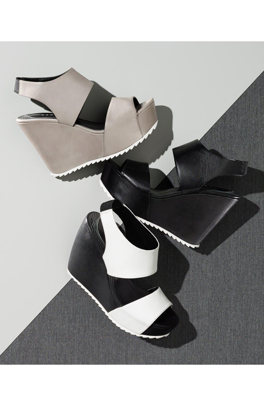 Alternate Image 5  - Trouvé 'Morgan' Platform Wedge Leather Sandal (Women)