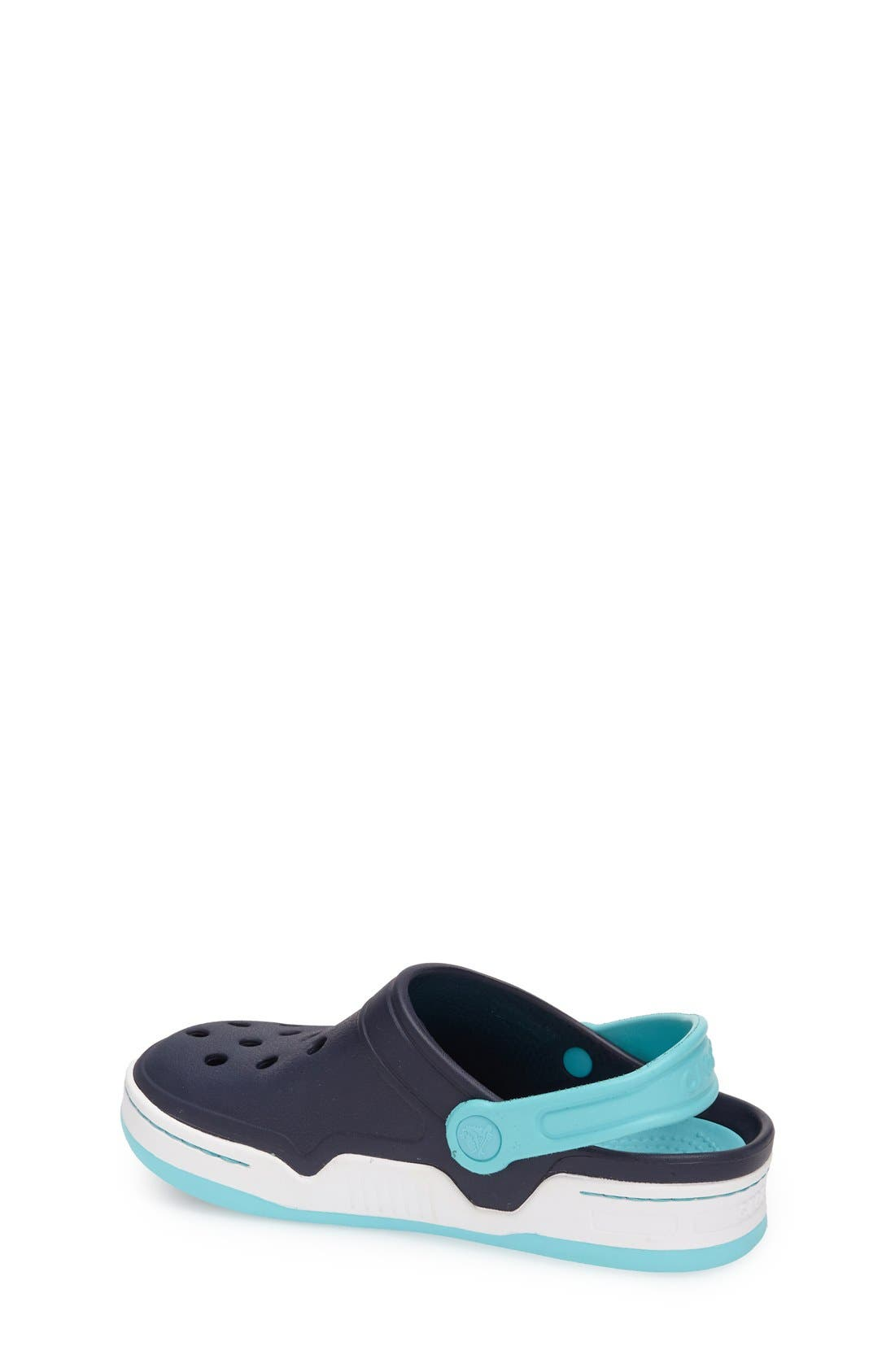 Alternate Image 2  - CROCS™ 'Front Court' Sandal (Walker, Toddler & Little Kid)