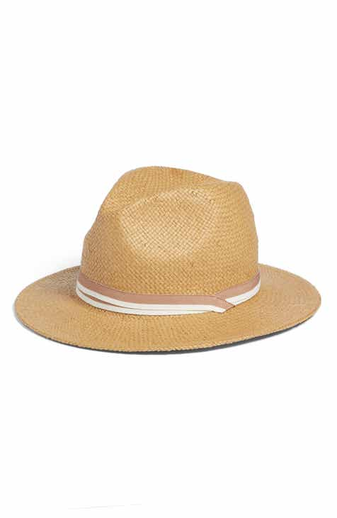 c06a7c39370d1 Something Navy Classic Panama Hat (Nordstrom Exclusive)