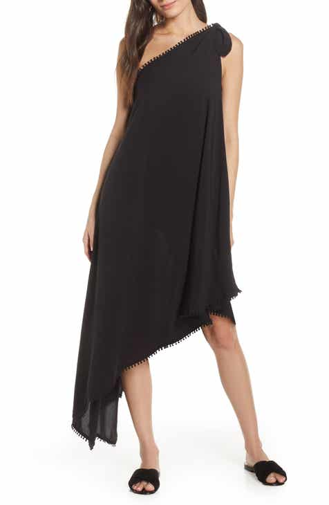 Red Carter One-Shoulder Maxi Cover-Up Dress by RED CARTER