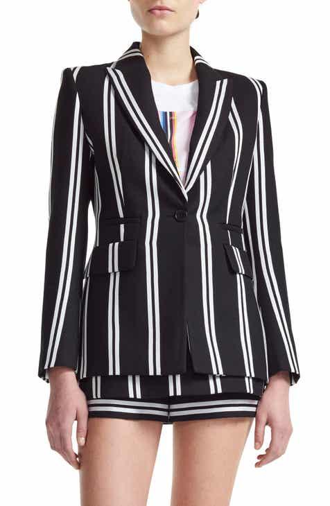 maje Vakila Stripe Jacket by MAJE