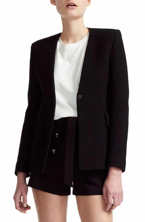 maje Varlo Tweed Cotton Blazer by MAJE