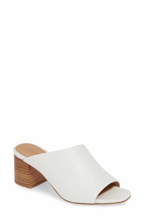 9282d16456e Halogen® Faye Asymmetrical Slide Sandal (Women)