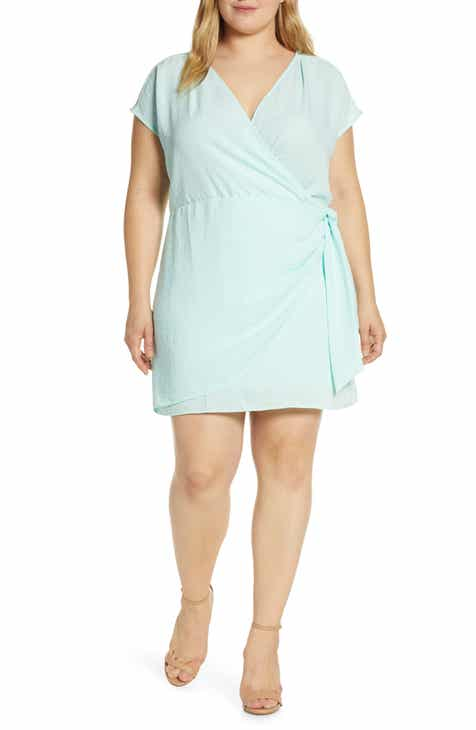 a238ed984c0 Leith Wrap Minidress (Plus Size)