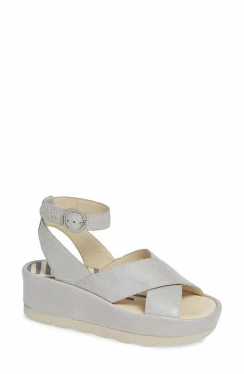 7d73d9ef2a2279 Fly London Bite Wedge Sandal (Women)
