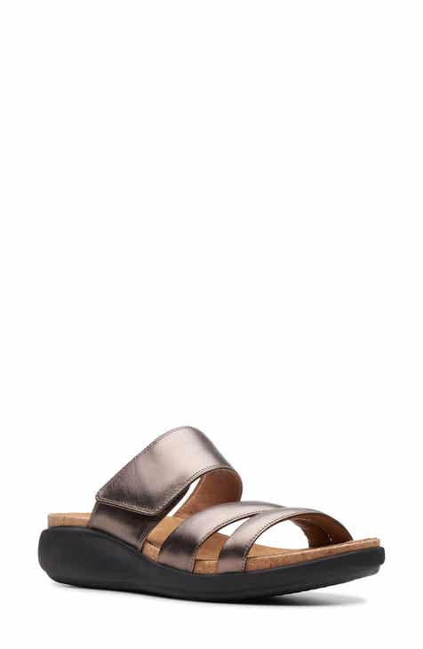7402d479218a Clarks® Un Bali Way Slide Sandal (Women)
