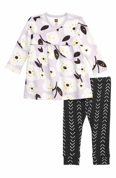 e995c5edc0c Tea Collection Floral Top   Leggings Set (Baby)