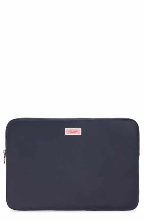 93d242382e3 kate spade new york sam heritage nylon universal laptop sleeve (Nordstrom  Exclusive).  85.00. Product Image. BLACK LEATHER   BRASS