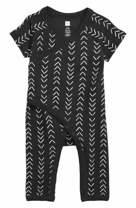 0dd32a3523a Tea Collection Geo Print Faux Wrap Romper (Baby)