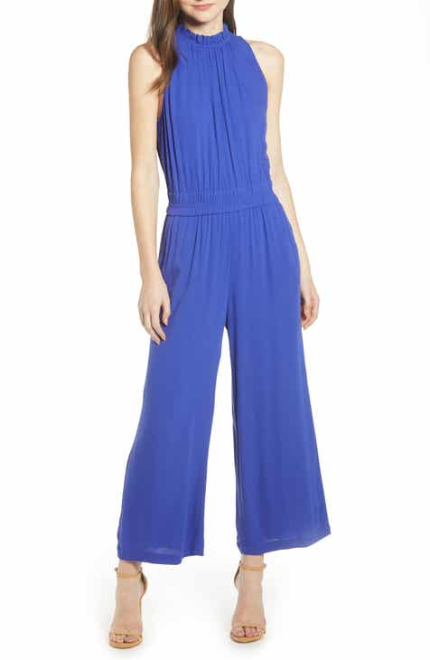 Dress the Population Emerson Plunge Jumpsuit by DRESS THE POPULATION