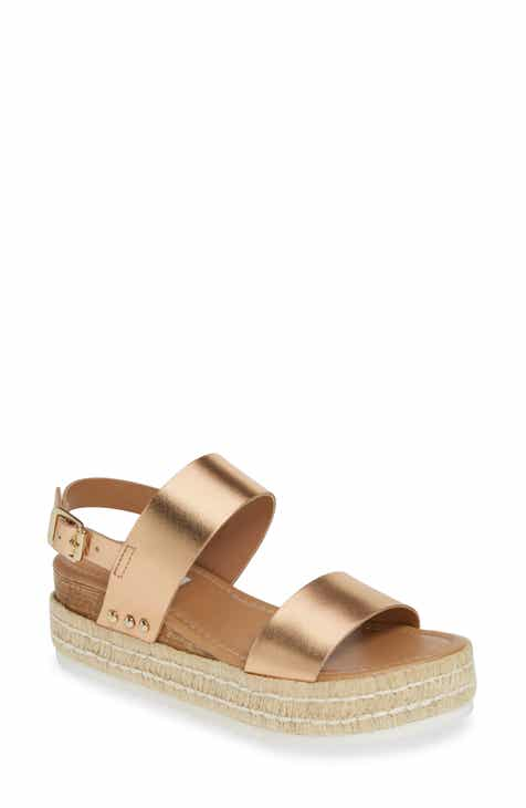 6d2426f916f0b0 Steve Madden Catia Espadrille Sandal (Women).  79.95. Product Image. ROSE  GOLD LEATHER