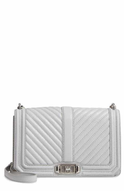 a3f852b45905 Rebecca Minkoff  Chevron Quilted Love  Crossbody Bag